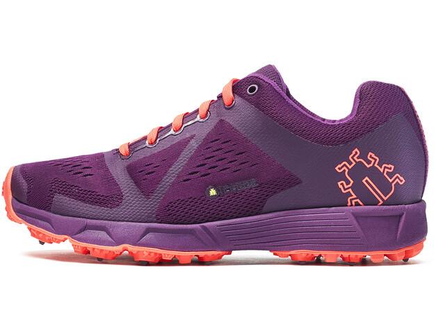 Icebug W's DTS3 BUGrip Shoes DkMagenta/NeonPeach